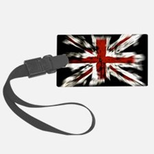 UK Flag England Luggage Tag