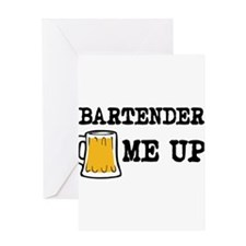 Beer me up Greeting Cards