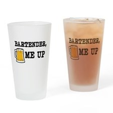 Beer me up Drinking Glass