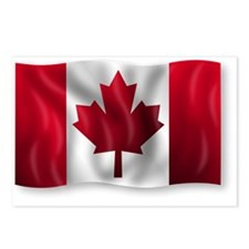 Canada Flag Postcards (Package of 8)
