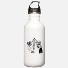 Classic movie monsters Sports Water Bottle