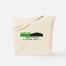 Saving the environment Tote Bag