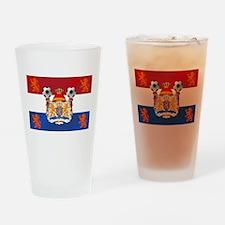 Netherlands Football Lions Drinking Glass