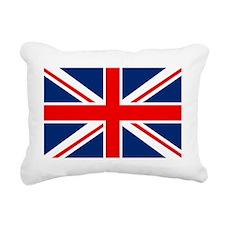 UK Flag England Rectangular Canvas Pillow