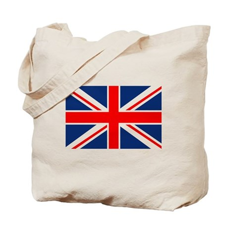 UK Flag England Tote Bag