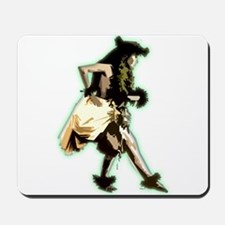 hula dancer Mousepad