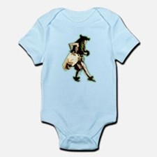 hula dancer Infant Bodysuit