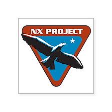 ENTERPRISE NX Project Square Sticker 3''X3''