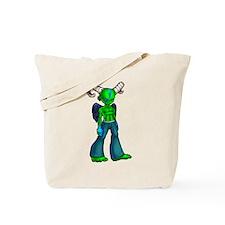 Green demon Tote Bag