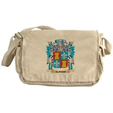Alonso Coat Of Arms Messenger Bag