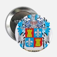 """Alonso Coat Of Arms 2.25"""" Button"""