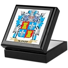 Alonzo Coat Of Arms Keepsake Box