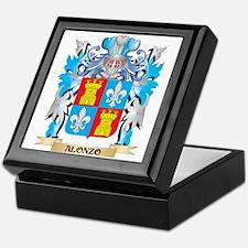 Alonzo Coat Of Arms Keepsake Box