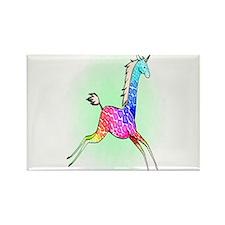 Girafficorn Rectangle Magnet
