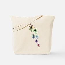 Rainbow turtles Tote Bag