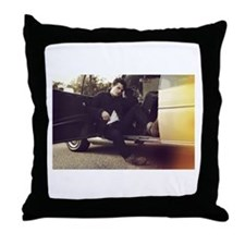 Josh Hutcherson Throw Pillow