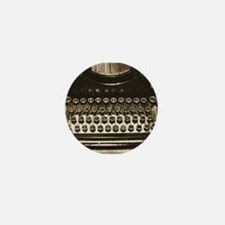 Vintage Typewriter Mini Button (10 pack)