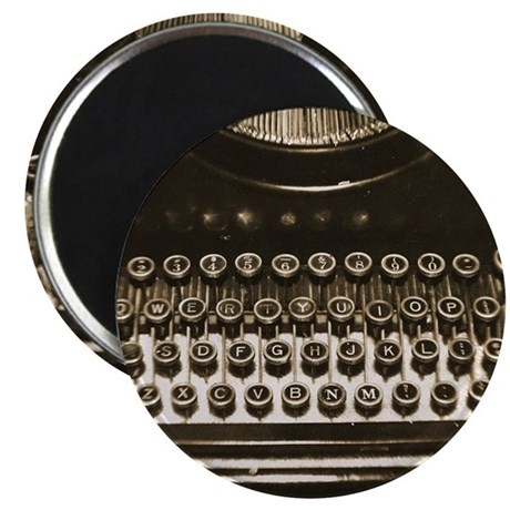 Vintage Typewriter Magnets