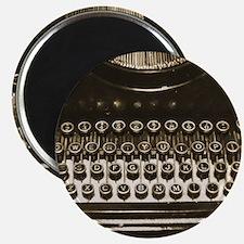 Vintage Typewriter Magnets