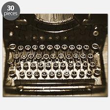 Vintage Typewriter Puzzle