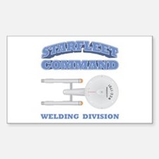 Starfleet Welding Division Decal