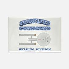 Starfleet Welding Division Rectangle Magnet