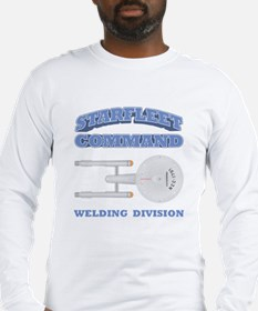 Starfleet Welding Division Long Sleeve T-Shirt