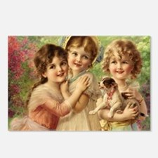 Vintage Victoria oil pain Postcards (Package of 8)