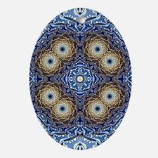 Resonance Pattern Oval Ornament