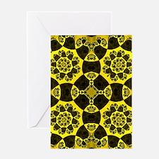 Toxic Pattern Greeting Card