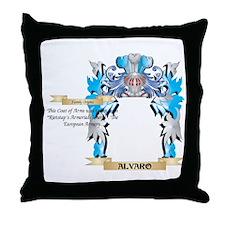Alvaro Coat Of Arms Throw Pillow