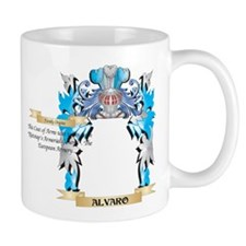 Alvaro Coat Of Arms Mugs