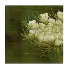 Queen Anne Lace Tile Coaster