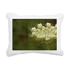 Queen Anne Lace Rectangular Canvas Pillow