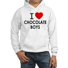 I LOVE CHOCOLATE BOYS Hoodie