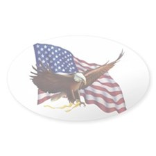 American Flag and Eagle - Patriotism Decal