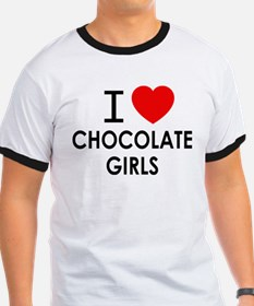 I LOVE CHOCOLATE GIRLS T-Shirt