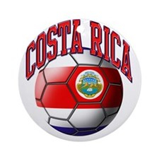 Flag of Costa Rica Round Ornament