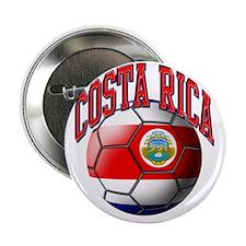 "Flag of Costa Rica 2.25"" Button"