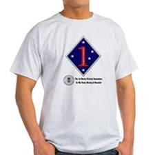 First Marine Div Remembers T-Shirt