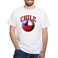 Flag of Chile Soccer Ball Shirt