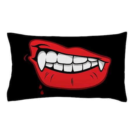 Vampire Lips Pillow Case