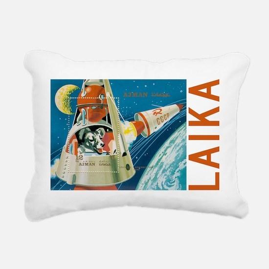 laika Rectangular Canvas Pillow