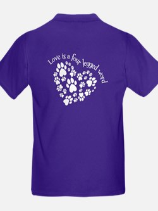 2-Sided Love Is 4-Legged T-Shirt