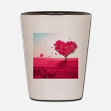 Tree of Love Shot Glass