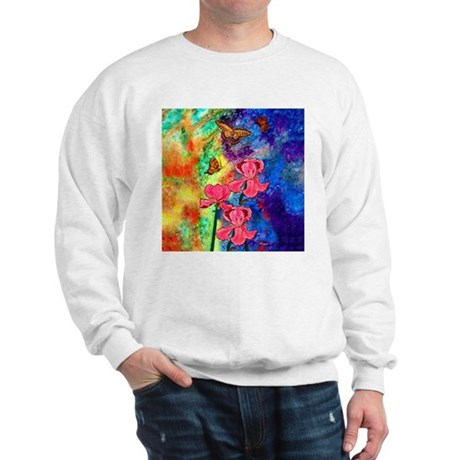 Swallowtail Attraction Light Sweatshirt