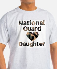 NG Daughter Heart Camo T-Shirt
