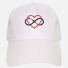 Infinity heart you and me, love forever Baseball C