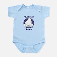 Polar Bears Rock Body Suit