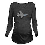 f16.png Long Sleeve Maternity T-Shirt